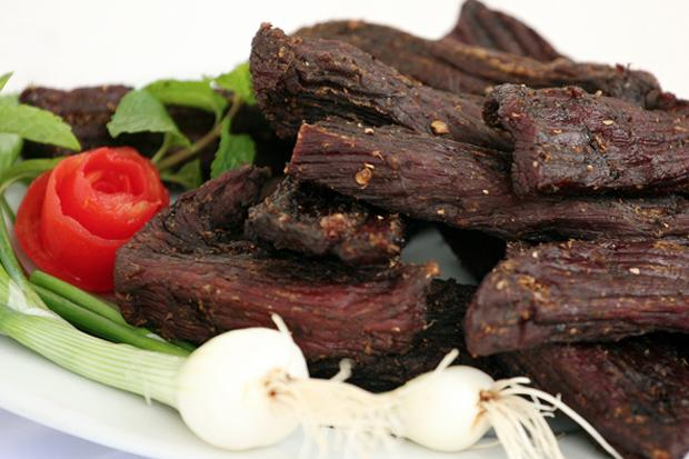 Khang Gai Dried Meat in Sapa