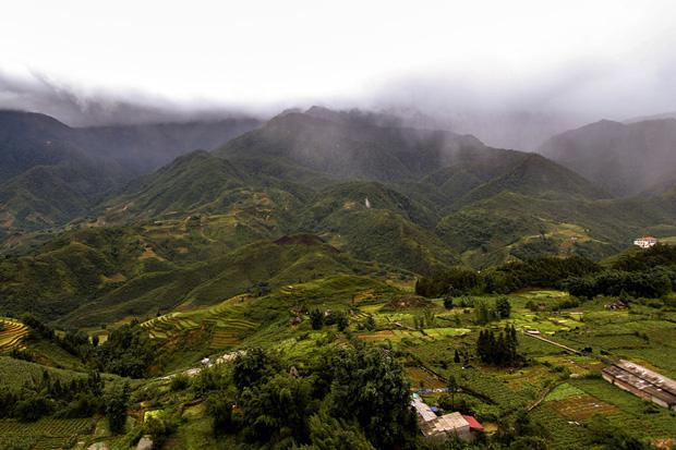 Summer storm clouds in Sapa